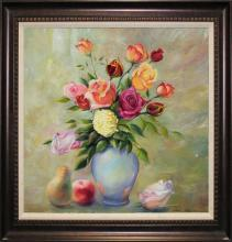 Arina Rose Bouquet Original oil