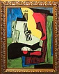 Pablo Picasso-Limited Edition Giclee Still Life with Guitar
