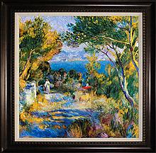 L'Estaque After Pierre Renoir