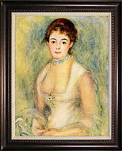 After Pierre Renoir-Limited Edition-Portrait Of Marie Henriot