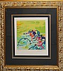 LeRoy Neiman-Serigraph Indoor Cycling