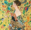 Gustav Klimt Limited Ed Giclee Woman with Basket