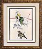 Toulouse Lautrec Original Lithograph 1899 Circus