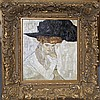 Gustav Klimt- Limited Edition -Lady with Hat