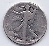 1945 50 Cent Silver Walking Liberty Half