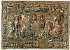 Tapisserie mit Szene aus der Alexanderlegende