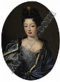 Portrait of the Madame la Duchesse de Lorraine, Elisabeth Charlotte d'Orléans (1676-1744)?., Pierre Mignard, Click for value