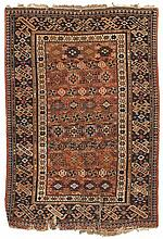 Tchi-Tchi.  Late 19th Century. 125 x 86 cm. Condition D. (Overall low pile, large tears