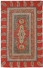 Rasht Embroidery.  Late 19th century. Condition C. (Small damage on the right edge).