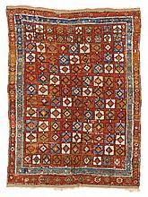 Yatak Central Anatolia.  19th Century. 201 x 153 cm. Condition C/D. (Partly worn, repai