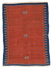 Yüncü, Kilim, North West Anatolia.  19th Century. 194 x 143 cm. Condition C/D. (Heavy t