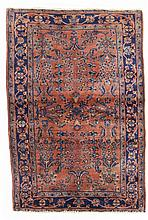 Sarough, american.  20th Century. 151 x 99 cm. Condition C. (Reduced sides, tinted stai