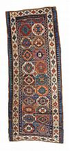 Genje.  19th Century. 260 x 100 cm. Condition C/D. (Both ends reduced, partly worn).