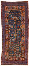 Khotan, East Turkistan.  19th Century. 224 x 100 cm. Condition C. (Partly low pile, rep