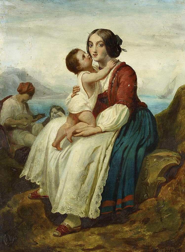 Papéty, Dominique Louis FerréolMarseille 1815 - 1849  Italian fisher family.