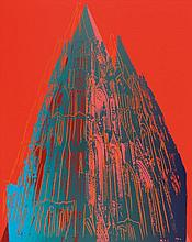 WARHOL, ANDY .  1928 Pittsburgh - 1987 New York .  Cologne Cathedral.