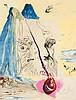 DALÍ, SALVADOR .  Figueras/Spain 1904 - 1989. . Moise et l