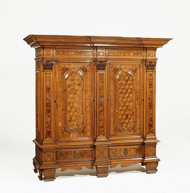 Large Baroque Architectural Cabinet. North