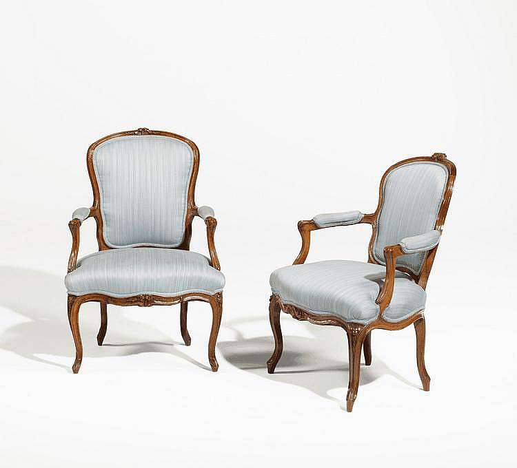 Pair of Louis XV. Armchairs. France. 18th C.