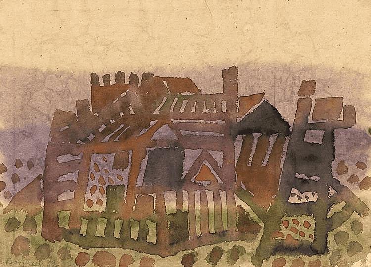 Bargheer, Eduard 1901 Finkenwerder/ Elbe - 1979