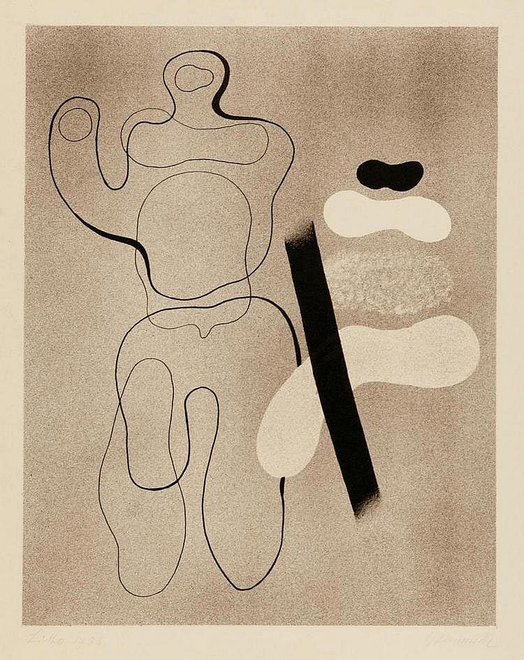 Baumeister, Willi Stuttgart 1889 - 1955 Stick
