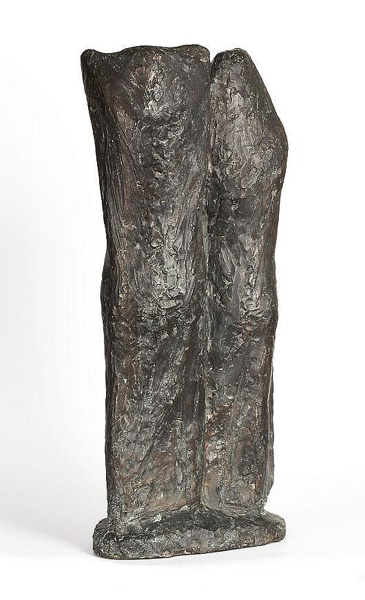 Cremer, Fritz 1906 - 1993 Bronze with brown patina