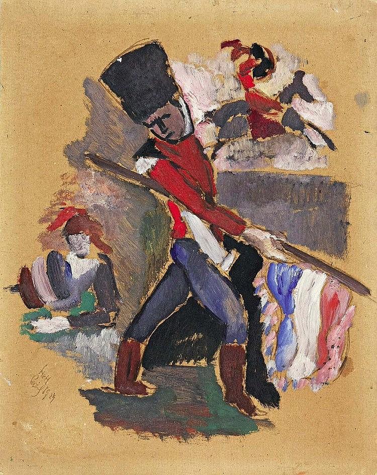 """""""Le Porte-Drapeau"""