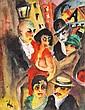 Albert-Lasard (Lazar), Lou(lou) 1885 - 1969 Berliner Straßenszene