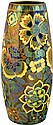 Zsolnay Cigar vase décored with Hungarian motifs, Zsolnay, 1898