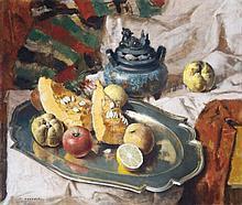 Kontuly Béla (1904-1983), Autumn Still Life