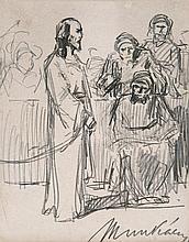 Munkácsy Mihály (1844-1900), Christ before Pilate