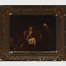 MANNER OF FRANCIS WHEATLEY (1747-1801), BRITSH, A FAMILY GATHERING, 15