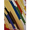 DANIEL SOLOMON, EYE DAZZLER, acrylic on paper, 30 ins x 22 ins; 76.2 cms x 55.9 cms