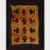 South American Peruvian Pre Colombian Chankay Textile Fragment, 1000-1450 A. D., 24