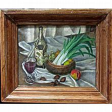 LUCILE BLANCH (AMERICAN, 1895-1981), STILL LIFE, OIL ON CANVAS; SIGNED AND DATED 1925 LOWER LEFT, 16