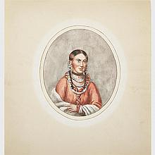School of Charles Bird King (1785-1862), HAYNE HUDIJIHINI (THE EAGLE OF DELIGHT) (COPY AFTER THE PORTRAIT STUDY FOR THOMAS MCKENNEY AND JOHN HALL'S BOOK PROJECT:
