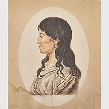 School of Charles Balthazar Julien Fevret de Saint-Memin (1770-1852), SHAHAKA (COPY AFTER THE PORTRAIT STUDY FOR THOMAS MCKENNEY AND JOHN HALL'S BOOK PROJECT: