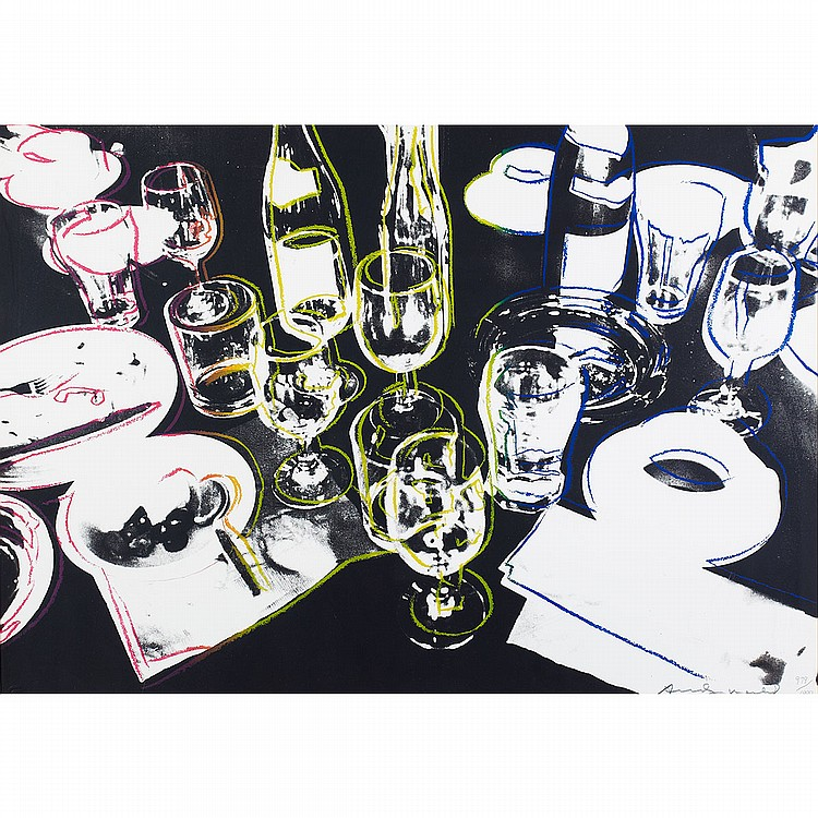 Andy Warhol (1928-1987), American AFTER THE PARTY, 1979 [F&S; 183.II]; Colour screenprint; signed in black crayon and numbered 979/1000 in pencil to margin. Published by Grosset and Dunlap Inc., New York.21.5