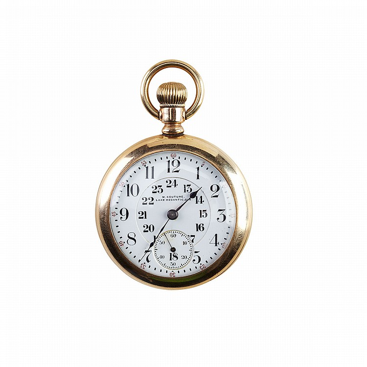 Elgin Railroad Grade Pocket Watch circa 1904; serial #11151758; 18 size; 21 jewel