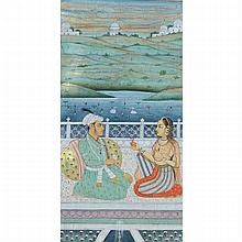 Mughal School, COURTESAN AND PRINCE, 17TH/18TH CENTURY