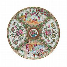 Five Export Famille Rose Dishes, 18th/19th Century