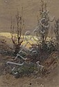LUCIUS RICHARD O'BRIEN QUEBEC, watercolour;, Lucius Richard O'Brien, Click for value