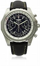 A GENTLEMAN'S STAINLESS STEEL BREITLING BENTLEY