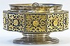 A 19th Century Continental Gold and Silver Censer