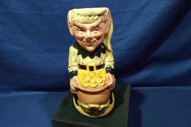 ROYAL DOULTON LEPRECHAUN JUG D6948
