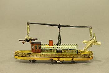 A German CKO. Kellerman Tin Plate Steamboat