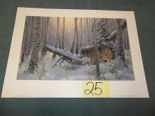 The Loner Print by Derk signed 1946/9500