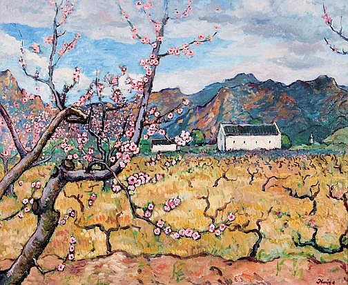 François Krige (South African 1913-1994) PEACH