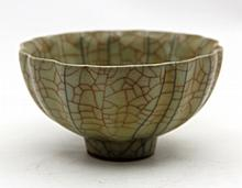 Chinese Porcelain Crackle Bowl