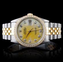 Rolex Two-Tone DateJust Men's Wristwatch